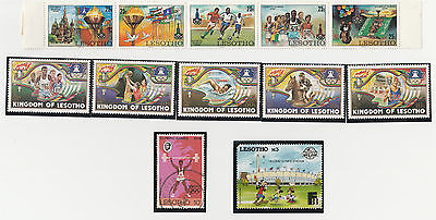 Lesotho stamps Olympic Theme