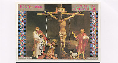 Lelotho stamps 1985 The Crucifixion SG MS634