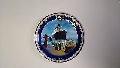 NEW Limited Edition Plate, Titanic Queen of the Ocean, Number 3 On the Promenade