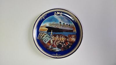 NEW Limited Edition Plate, Titanic Queen of the Ocean, Number 4 The Smoking Room