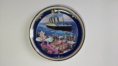 NEW Limited Edition Plate Titanic Queen of the Ocean, Number 5 The Cafe Parisien