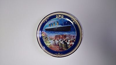 NEW Limited Edition Plate Titanic Queen of the Ocean, Number 6 The Dining Saloon