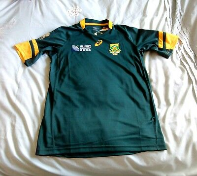South Africa rugby world cup shirt worcester warriors hougaard bnwt