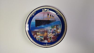 NEW Limited Edition Plate Titanic Queen of the Ocean No. 7 First Class Stateroom