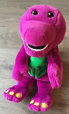 Barney The Dinosaur Actimates From Microsoft Interactive Toy Plush Games
