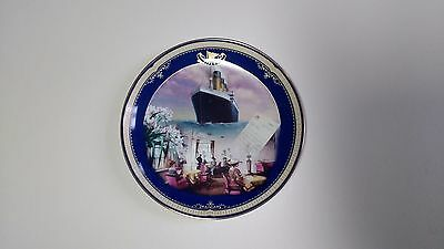 NEW Limited Edition Plate Titanic Queen of the Ocean No 8 Reading & Writing Room