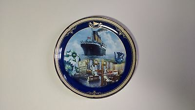 NEW Limited Edition Plate, Titanic Queen of the Ocean, Number 9 The Turkish Bath