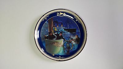 NEW Limited Edition Plate Titanic Queen of the Ocean Number 11 All Hands on Deck
