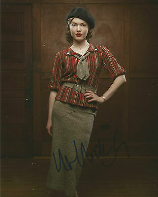 Holliday Grainger Signed Bonnie And Clyde 10x8 Photo AFTAL