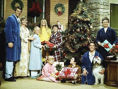 Maureen Mccormick, Barry Williams Christmas  The Brady Bunch    8X10 Photo 145