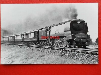Photo  Sr West Country Loco No 34099 Lapford At Bickley Junct 1/7/50 Down Thanet
