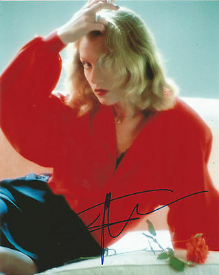 Isabelle Huppert Signed The Bedroom Window 10x8 Photo With Proof AFTAL