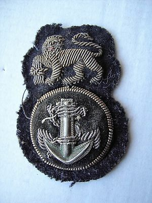 South African Navy  Petty .officers Cap Badge.