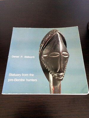 statuary from the pre bembe hunters biebuyck  ART AFRICAIN PRIMITIF AFRICAN