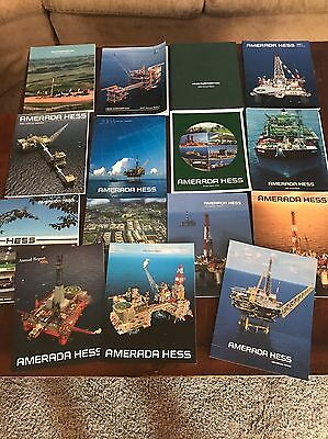 15 Magazines Books Pictures Amerada Hess Annual Reports L@@K