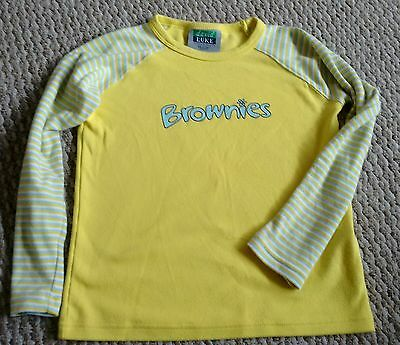 Brownie Uniform Long Sleeve Top 65Cm Chest
