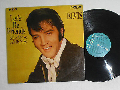 Elvis LP Let´s be friends / Seamos Amigos CAL-3271 Argentina Mono 1st issue RARE