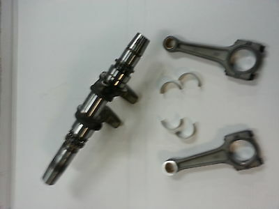 CAN AM 500 rebuilt CRANKSHAFT and CONNECTING RODS with NEW ROD BEARINGS
