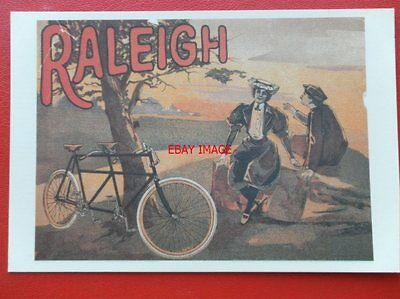 Postcard  Advertising - Raleigh Cover From French Catalogue 1897