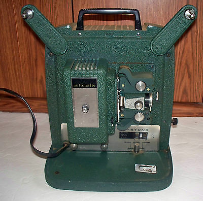 Vintage Keystone Model 950 8mm Film Projector WORKING CONDITION SEE PICS