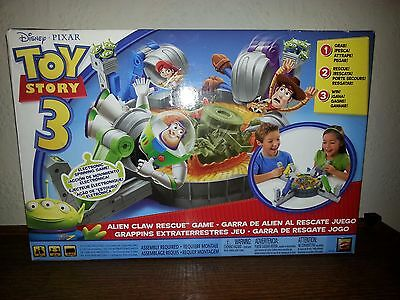 Disney Pixar Toy Story 3 Alien Claw Rescue Game