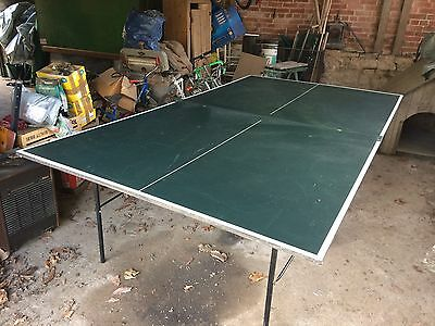 Dunlop Table Tennis Table, Green - Full Size