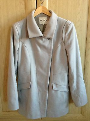 Reiss jacket coat wool and cashmere size medium
