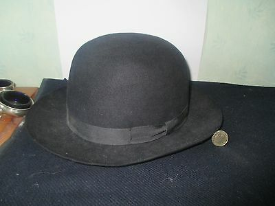 """Quality CHRISTY'S of LONDON """"LINCONA"""" Bowler Type Hat Size  6 &7/8"""