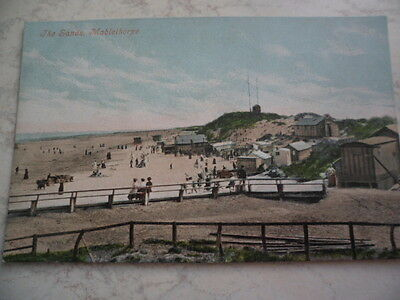 Vintage Printed Postcard Of The Sands Mablethorpe Lincolnshire Unposted See Phot