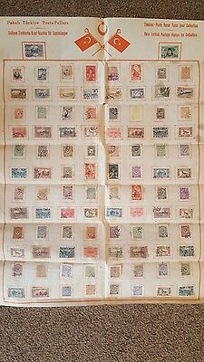 Rare Turkish Postage Stamps for Collectors