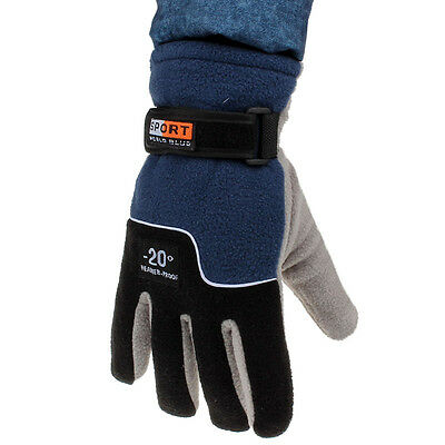 Windproof Men Thermal Winter Motorcycle Ski Snow Snowboard Warm Gloves Discount