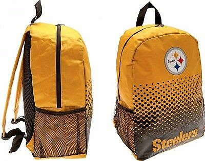 Nfl Pittsburgh Steelers Sports Rucksack Lunch School Swim Gym Kit Backpack  Pit