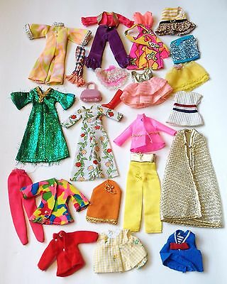 1970 Topper Toys Dawn & Mattel Rock Flower Doll Clothing & Accessories