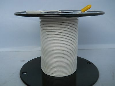 Rg 316 M17/172-00001 Coax Teflon Insulation Silver Plated Copper Shield 165/ft.