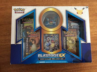 Pokemon-Tcg Blastoise Ex Red And Blue Collection