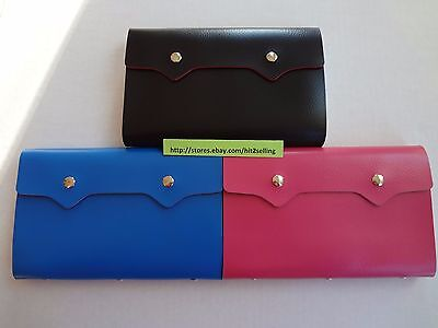 PU Leather 108 Cards Business ID Credit Card Holder Case Organizer USA Seller!