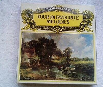 Readers Digest Volume 1 - Your 101 Favourite Melodies Box Set Cassette Tapes