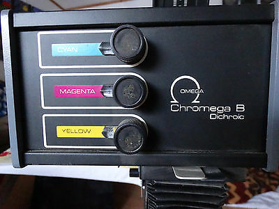 OMEGA CHROMEGA B  PHOTO ENLARGER WITH STAND POWER SUPPLY + 1:4 f=50mm LENS