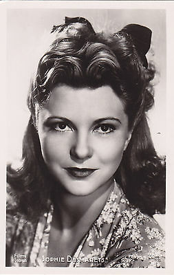 Carte Photo SOPHIE DESMARETS French Actress Real Photo Postcard Editions P.I.