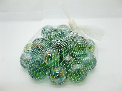 1500 New Classic Play Glass Marbles 25mm Mixed
