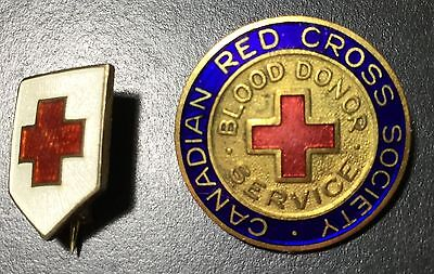 Canadian Red Cross Pins
