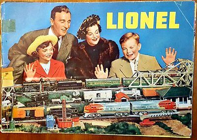 1949 LIONEL 40 Page CATALOG Train Sets from $16 to $75 Cars, Accessories NR