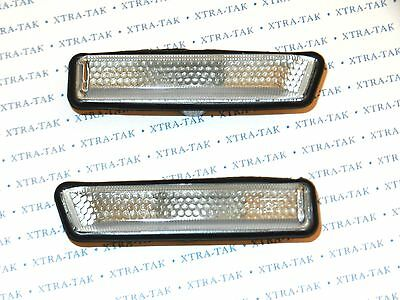Bmw X5 E53 / 3 Series E36 - Pair New Front Wing Side Indicators Repeaters Clear