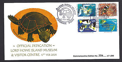 LORD HOWE ISLAND Australia Limited Edition Commemorative Stamp Cover (#D9429)