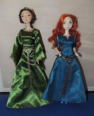 Disney Merida and Queen Elinor Set of 2 Dolls