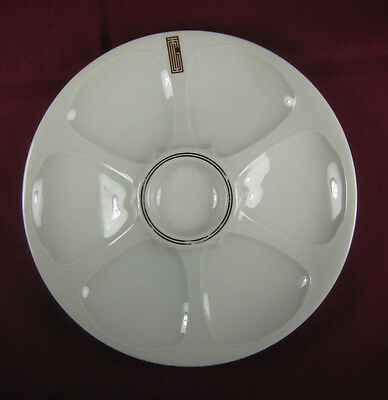 Original CGT - FRENCH LINE Steamship Oyster Plate