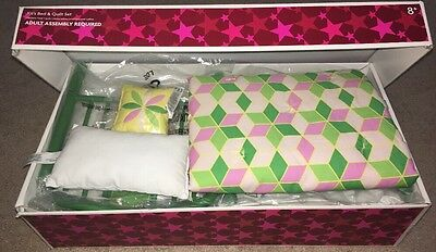 American Girl Kit's Bed And Quilt Set, Retired