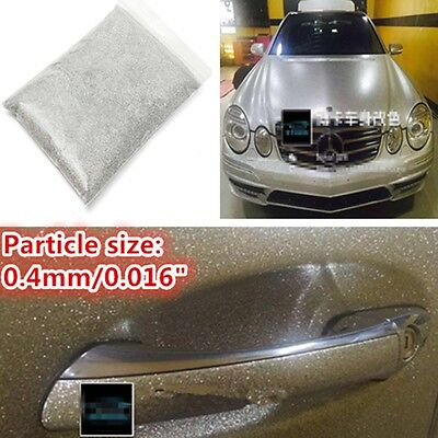 "PET 0.4mm/0.016"" 6oz / 177ml Auto Car Paint Additive Silver Metal Flake Particle"