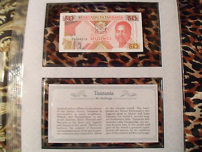 *Most Treasured Banknotes Tanzania 50 Shilingi 1993 P 23 UNC Low EU009319