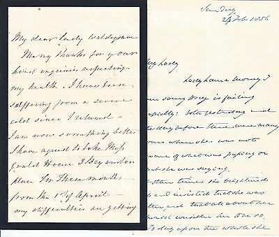 Lady Waldegrave letters 1850s English Society and Politics Lord Carlingford